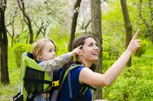 Nosidełko turystyczne a zdrowie dziecka